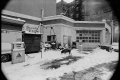 Dog Gas Station NYC early '70s