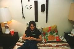 Joan at home, Los Angeles